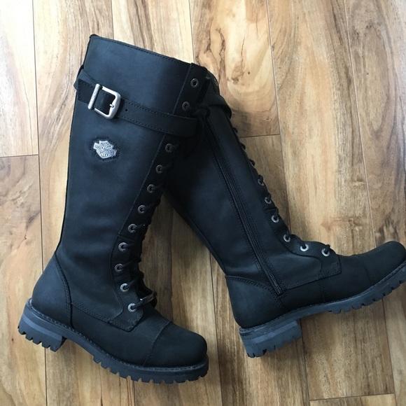 7340c5a4c4d Harley-Davidson Shoes - Harley Davidson Beechwood Knee High Boots